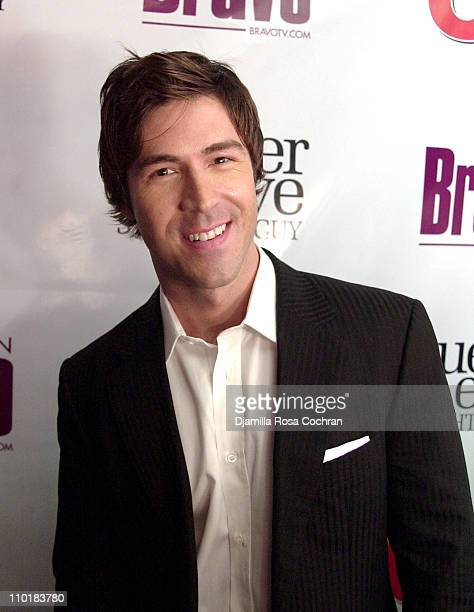 Kyan Douglas of Queer Eye For The Straight Guy during Bravo and Us Weekly Host The Fab Five Party to Celebrate the Premiere of Bravo's New Series...