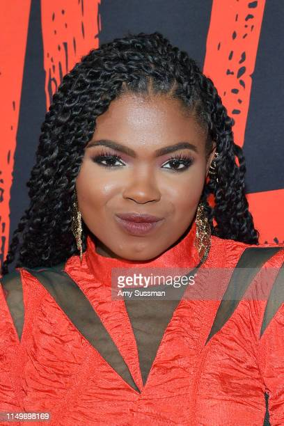 Kyanna Simone Simpson attends a special screening of Universal Pictures' Ma at Regal LA Live on May 16 2019 in Los Angeles California