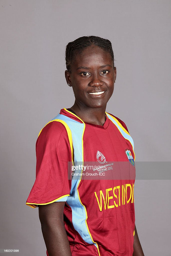 Kycia Knight of West Indies poses at a portrait session ahead of the ICC Womens World Cup 2013 at the Taj Mahal Palace Hotel on January 27, 2013 in Mumbai, India.