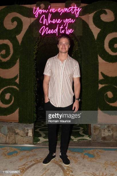Kygo attends Nikki Beach welcomes superstar DJ and producer Kygo as headliner for New Year's Eve 2019 soirée on December 31 2019 in Plage de St Jean...