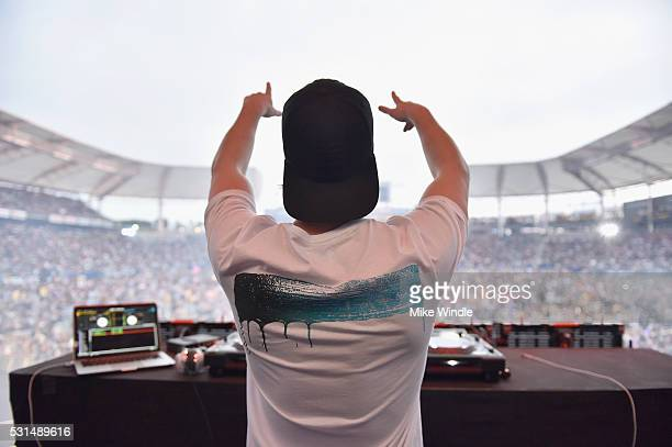 Kygo performs on stage at KIIS FM's Wango Tango 2016 at StubHub Center on May 14 2016 in Carson California