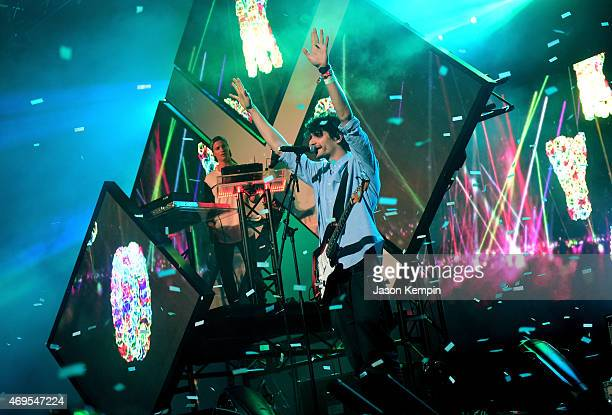 Kygo performs onstage during day 3 of the 2015 Coachella Valley Music Arts Festival at the Empire Polo Club on April 12 2015 in Indio California