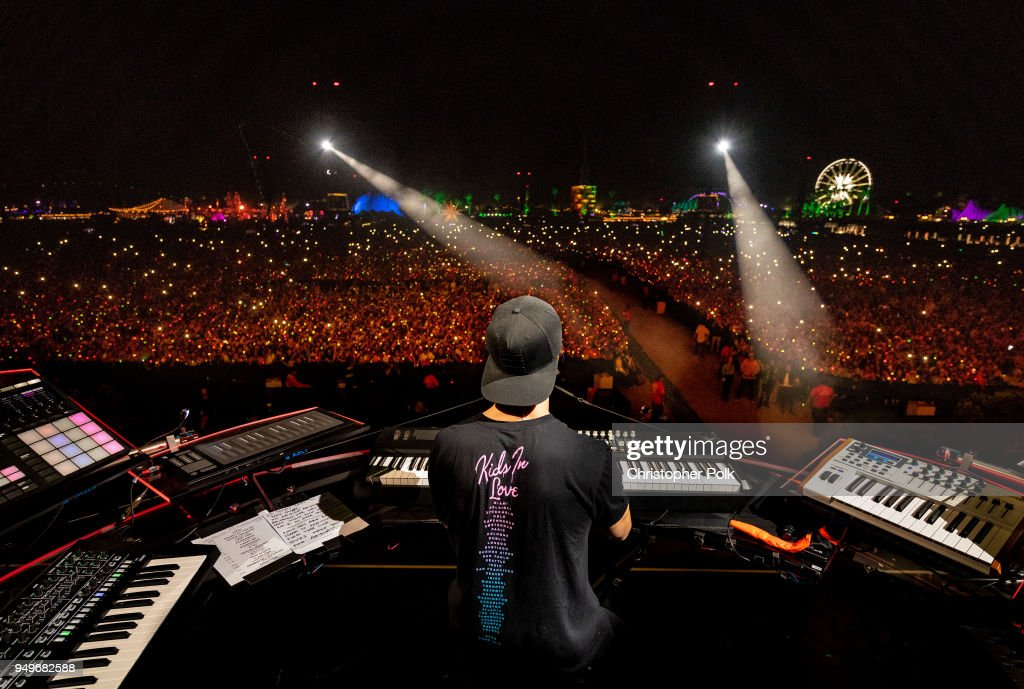 Kygo performs onstage during the 2018 Coachella Valley Music And Arts Festival at the Empire Polo Field on April 20, 2018 in Indio, California.
