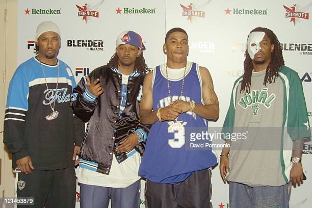 Kyjuan, Murphy Lee, Nelly and Slo Down of the St. Lunatics