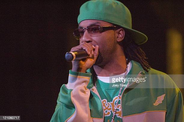 Kyjuan of St. Lunatics during Ciara in Concert at The Vogue Theatre – November 03, 2006 at The Vogue Theatre in Indianapolis, Indiana, United States.