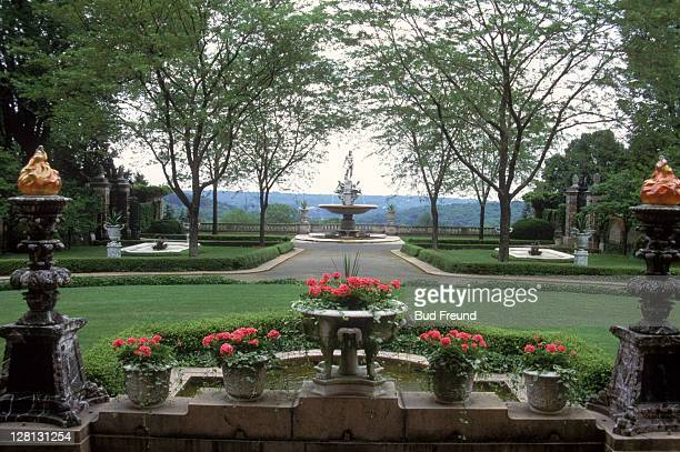 kykut-rockefeller estate, tarrytown, ny - westchester county stock pictures, royalty-free photos & images