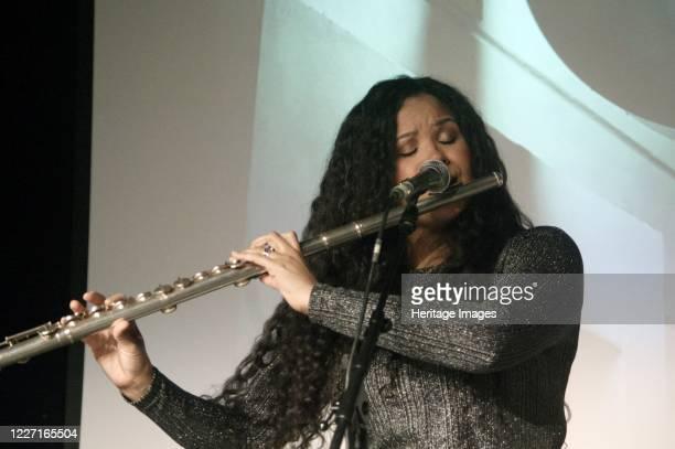Kyla Brox Kyla Brox Duo Crawley Blues Club Hawth Crawley West Sussex 14 Feb 2020 Artist Brian O'Connor