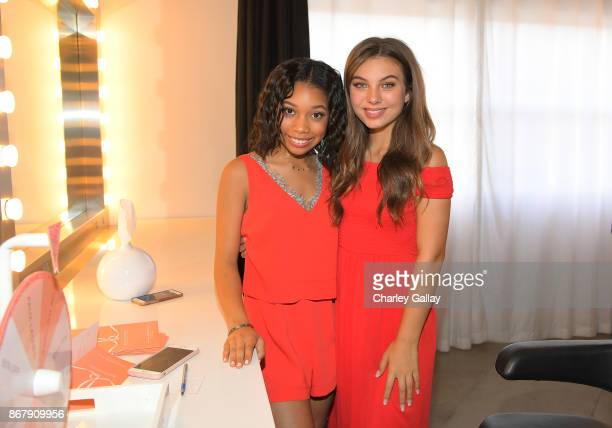 Kyla Drew Simmons Caitlin Carmichael at The Elizabeth Glaser Pediatric AIDS Foundation's 28th annual 'A Time For Heroes' family festival at Smashbox...