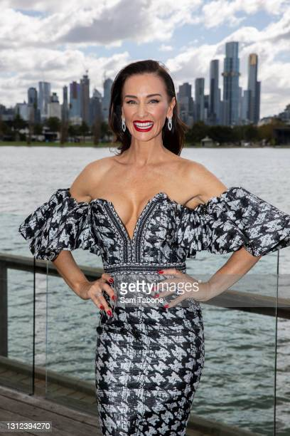 Kyla Kirkpatrick attends the cast announcement for The Real Housewives of Melbourne season 5 on April 14, 2021 in Melbourne, Australia.