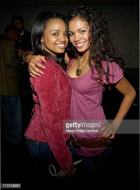 Kyla Pratt and Jennifer Freeman during Goodlife Frye Gabrielle Union Host LA Fashion Week Party Spring 2006 Inside at The Vine Street Lounge in...