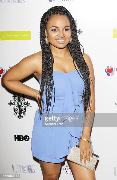 Kyla Pratt arrives at The Elizabeth Taylor AIDS Foundation ...