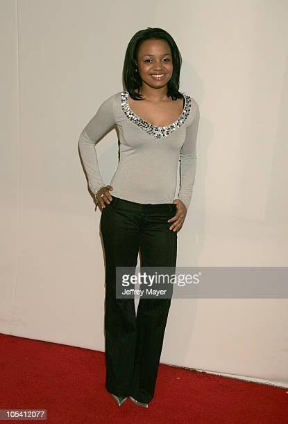 Kyla Pratt during CBS and UPN 2005 TCA Party Arrivals at Quixote Studios in Los Angeles California United States