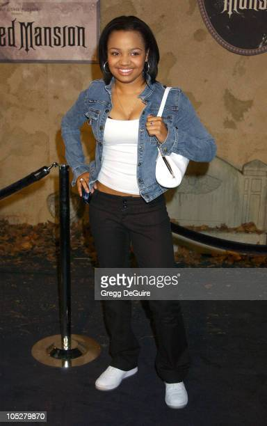 Kyla Pratt during The Haunted Mansion World Premiere at El Capitan Theatre in Hollywood California United States