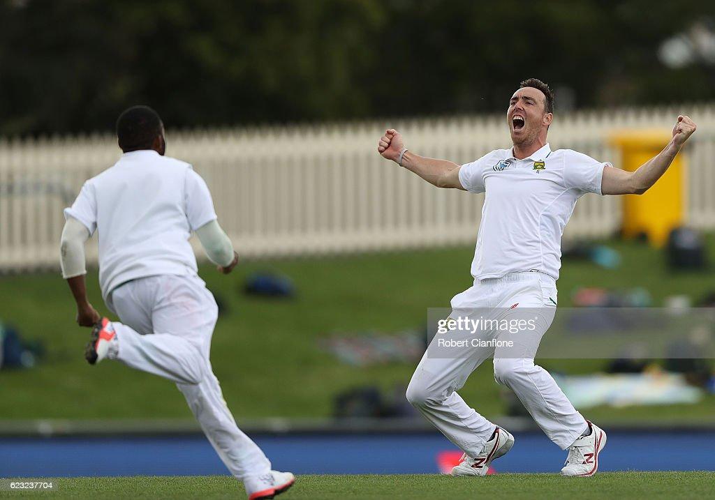 Australia v South Africa - 2nd Test: Day 4 : News Photo