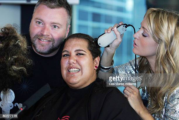 Kyle and Jackie O shave Casey Donovan's head live on air for `The World's Greatest Shave' to raise money for The Leukaemia Foundation in the 2 Day FM...