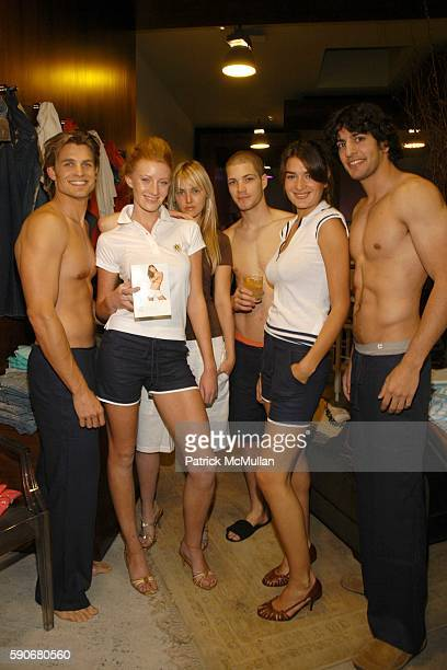 Kyle and Models attend Gran Centenario hosts the J Ransom instore event for adam eve at J Ransom Boutique on March 18 2005 in Los Angeles California