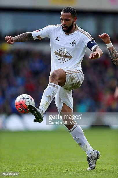 Kyle Bartley of Swansea City during The Emirates FA Cup match between Oxford United and Swansea City at Kassam Stadium on January 10 2016 in Oxford...