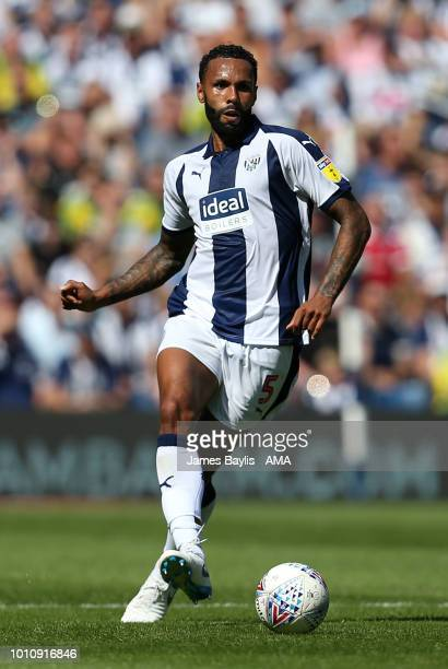 Kyle Bartley of West Bromwich Albion during the Sky Bet Championship match between West Bromwich Albion and Bolton Wanderers at The Hawthorns on...