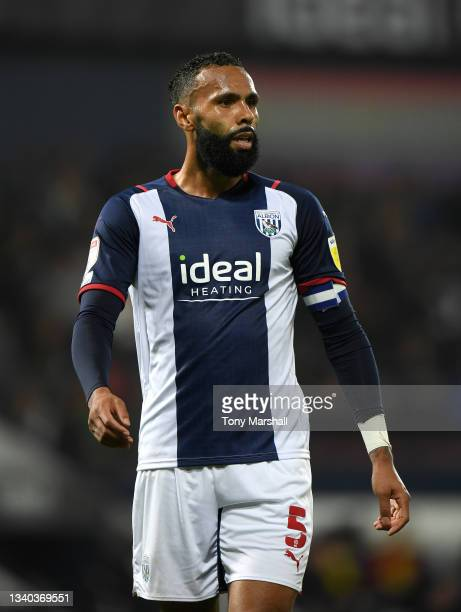 Kyle Bartley of West Bromwich Albion during the Sky Bet Championship match between West Bromwich Albion and Derby County at The Hawthorns on...