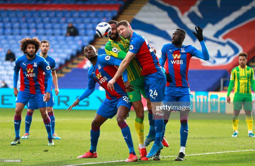 Crystal Palace v West Bromwich Albion - Premier League : Nieuwsfoto's