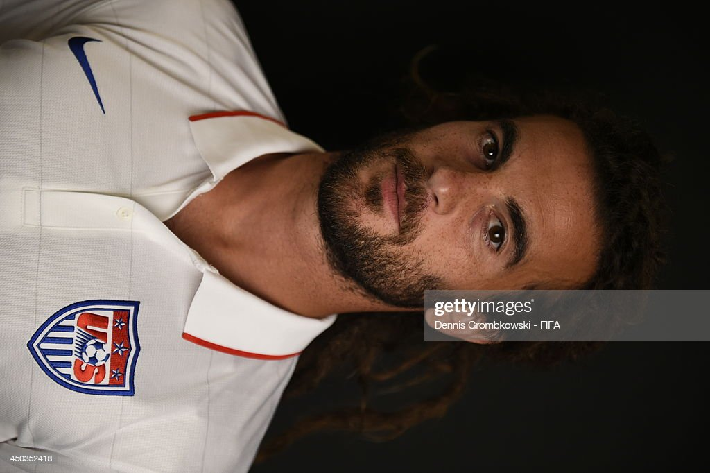 Kyle Beckerman of the United States poses during the Official FIFA World Cup 2014 portrait session on June 9, 2014 in Sao Paulo, Brazil.