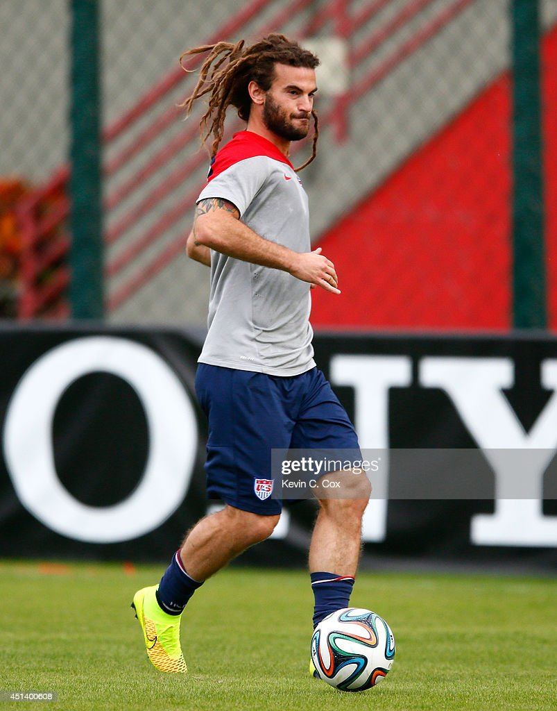 USA Training & Press Conference - 2014 FIFA World Cup Brazil : News Photo