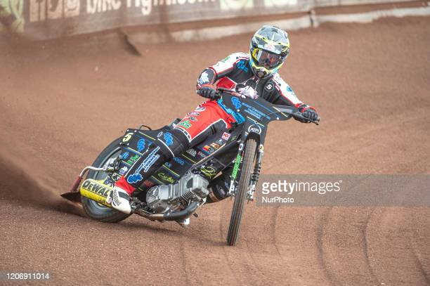 Kyle Bickley of Belle Vue Colts in action during The Belle Vue Speedway Media Day, at The National Speedway Stadium, Manchester, on Thursday 12 March...