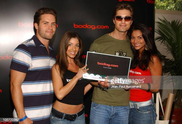 Kyle Brandt and Eric Winter at bodog.com during bodog.com at The Silver Spoon Pre-Emmy Hollywood Buffet - Day 1 at Private residence in Beverly...
