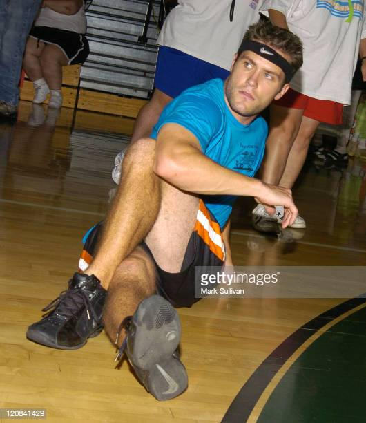 Kyle Brandt during 14th Annual Days of Our Lives Celebrity Basketball Tournament Benefiting Pasadena Ronald McDonald House at Blair High School in...