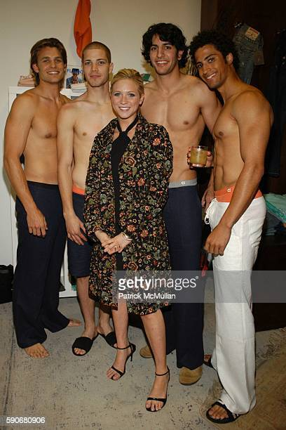 Kyle Brittany Snow and Models attend Gran Centenario hosts the J Ransom instore event for adam eve at J Ransom Boutique on March 18 2005 in Los...