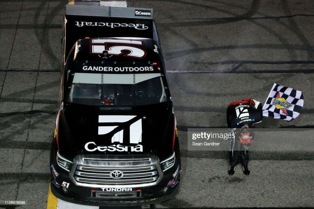 NASCAR Gander Outdoors Truck Series Ultimate Tailgating 200 : News Photo