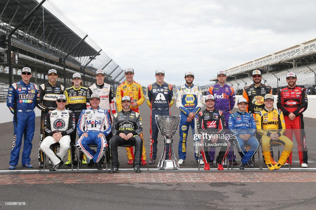 Monster Energy NASCAR Cup Series Big Machine Vodka 400 at the Brickyard : News Photo