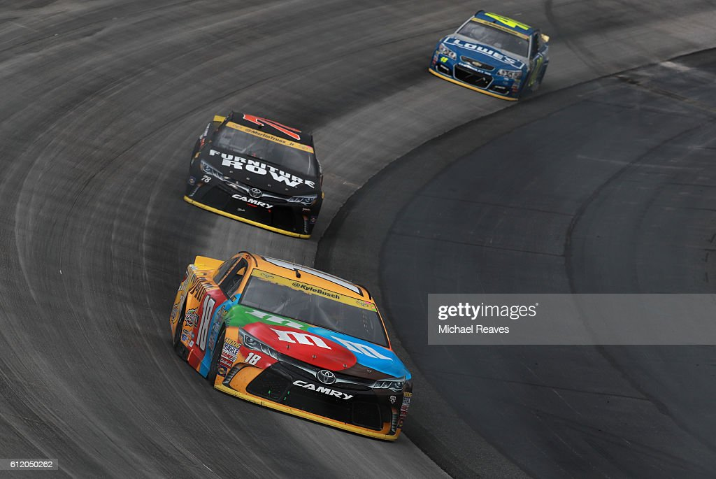 NASCAR Sprint Cup Series Citizen Solider 400 : News Photo