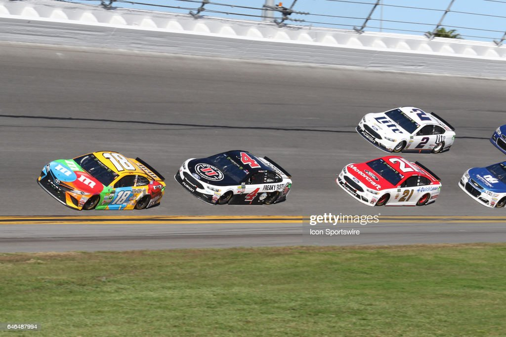 AUTO: FEB 26 NASCAR Monster Energy Cup Series - Daytona 500 : News Photo