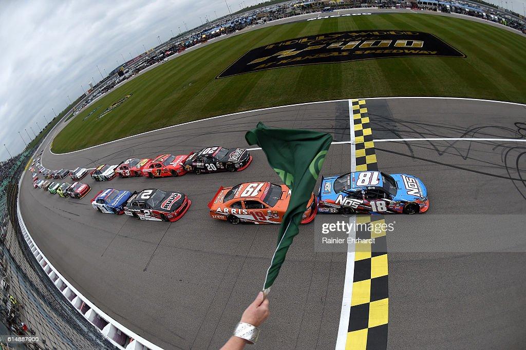 NASCAR XFINITY Series Kansas Lottery 300 : ニュース写真