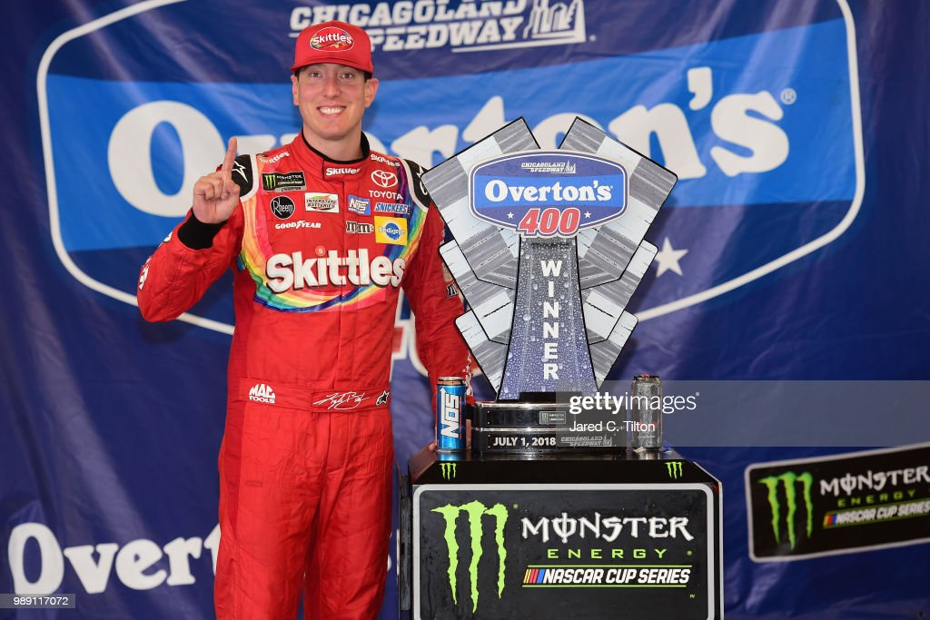 Monster Energy NASCAR Cup Series Overton's 400 : News Photo