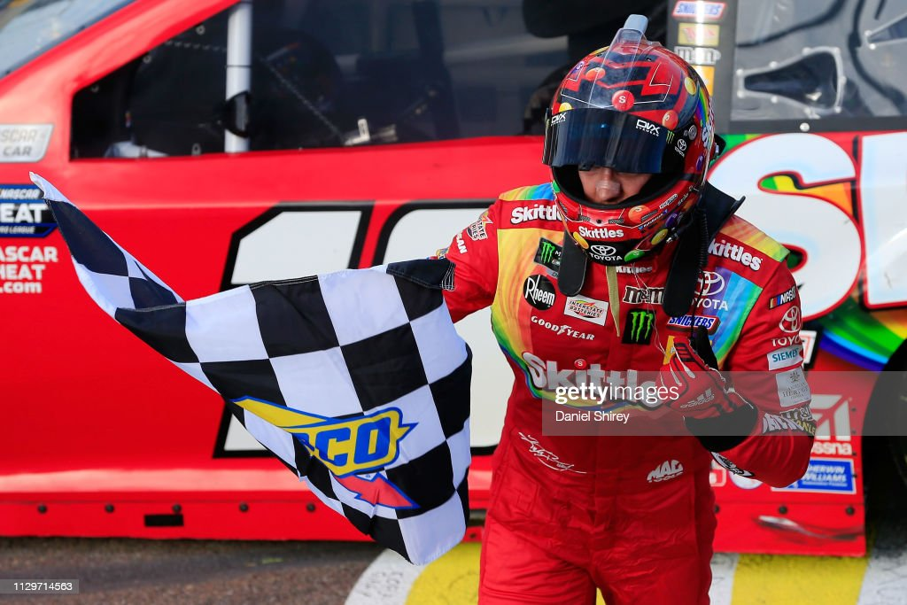 Monster Energy NASCAR Cup Series - TicketGuardian 500 : News Photo