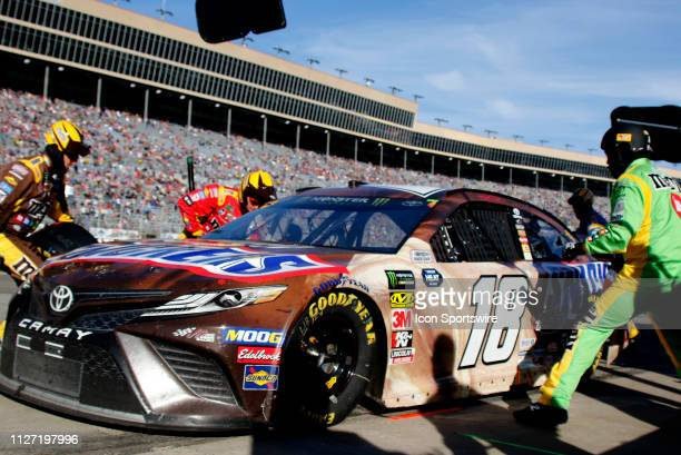 Kyle Busch, Joe Gibbs Racing, Toyota Camry Snickers Creamy during the running of the Folds of Honor QuikTrip 500 on February 24,2019 at Atlanta Motor...