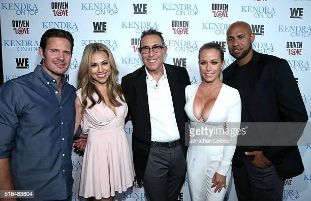 Kyle Carlson, actress Jessica Hall, WE tv President Marc Juris, TV personality Kendra Wilkinson, and former professional football player Hank Baskett...