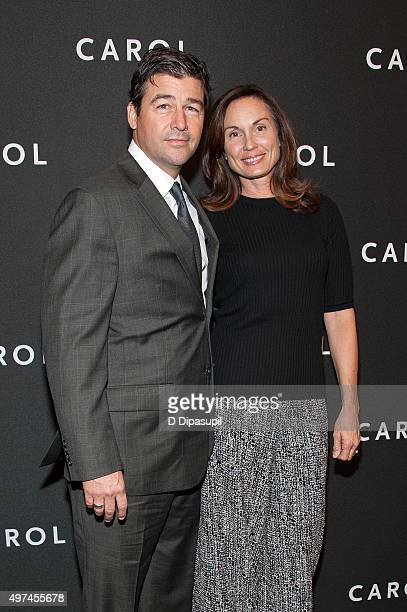 "Kyle Chandler and wife Kathryn Chandler attend the ""Carol"" New York premiere at the Museum of Modern Art on November 16, 2015 in New York City."
