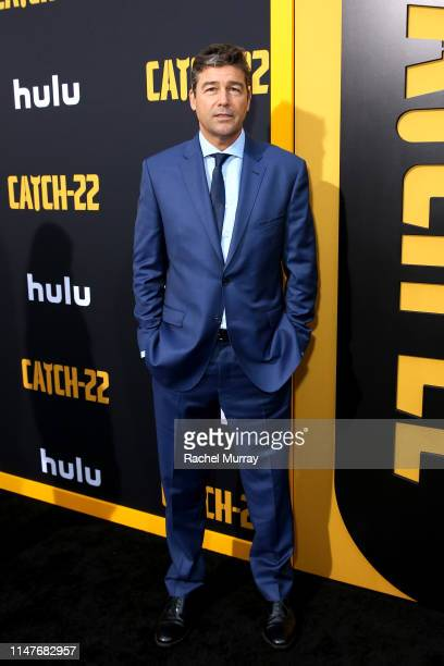 Kyle Chandler attends the premiere of Hulu's Catch22 on May 07 2019 in Hollywood California