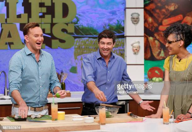 THE CHEW Kyle Chandler is the guest Tuesday May 23 2017 on Walt Disney Television via Getty Images's The Chew The Chew airs MONDAY FRIDAY on the Walt...