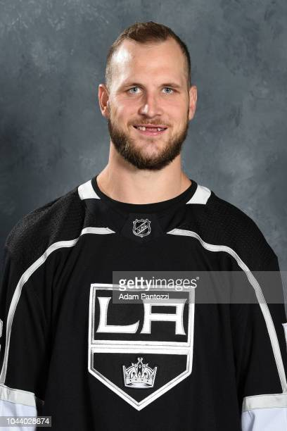 Kyle Clifford of the Los Angeles Kings poses for his official headshot for the 20182019 season on September 06 2018 at the Toyota Sports Center in El...