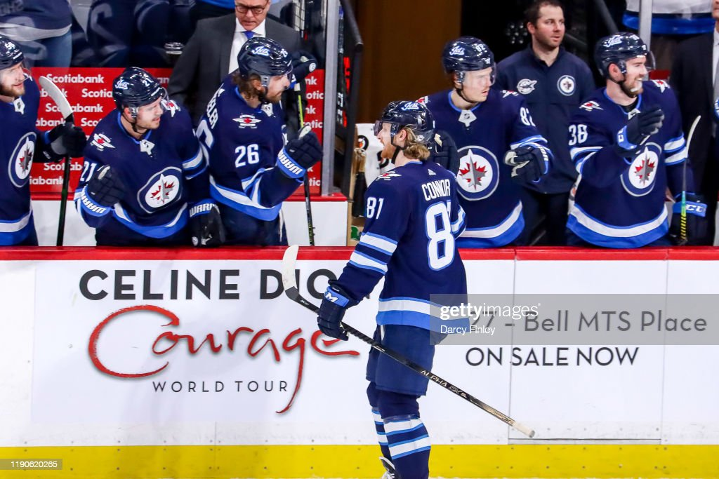 Kyle Connor Of The Winnipeg Jets Of The Celebrates His Second Period News Photo Getty Images