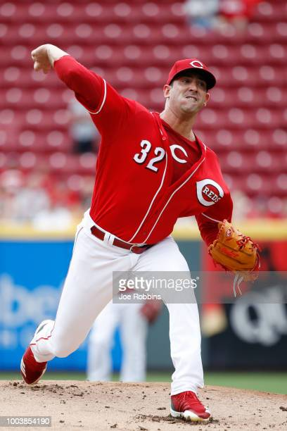 Kyle Crockett of the Cincinnati Reds pitches in the ninth inning against the Pittsburgh Pirates at Great American Ball Park on July 22 2018 in...