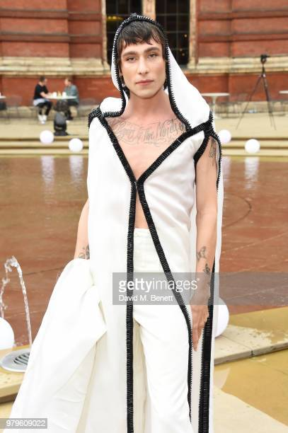 Kyle De'Volle attends the Summer Party at the VA in partnership with Harrods at the Victoria and Albert Museum on June 20 2018 in London England