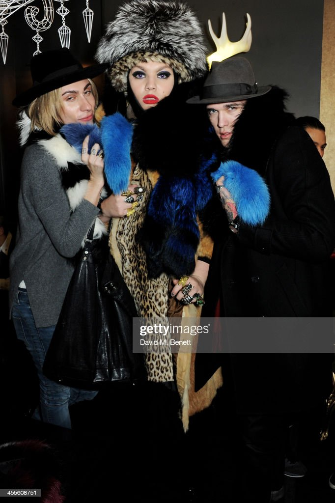 Kyle De'Volle & Charlotte Simone - Fur Collection Launch