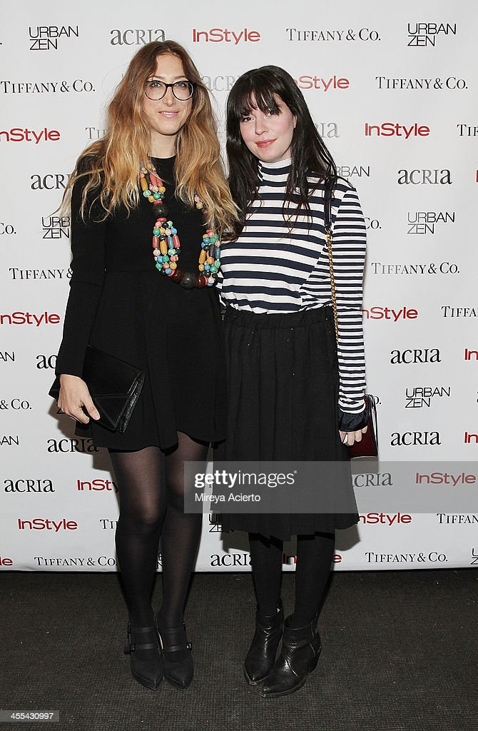 Kyle deWoody and Alana Pagnutti attend the ACRIA annual holiday dinner benefiting AIDS research on December 11, 2013 in New York, United States.