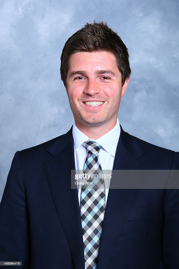 Kyle Dubas Of The Toronto Maple Leafs Poses For His Official Headshot For The