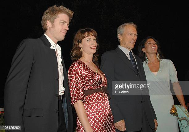 Kyle Eastwood Alison Eastwood Clint Eastwood and Dina Eastwood